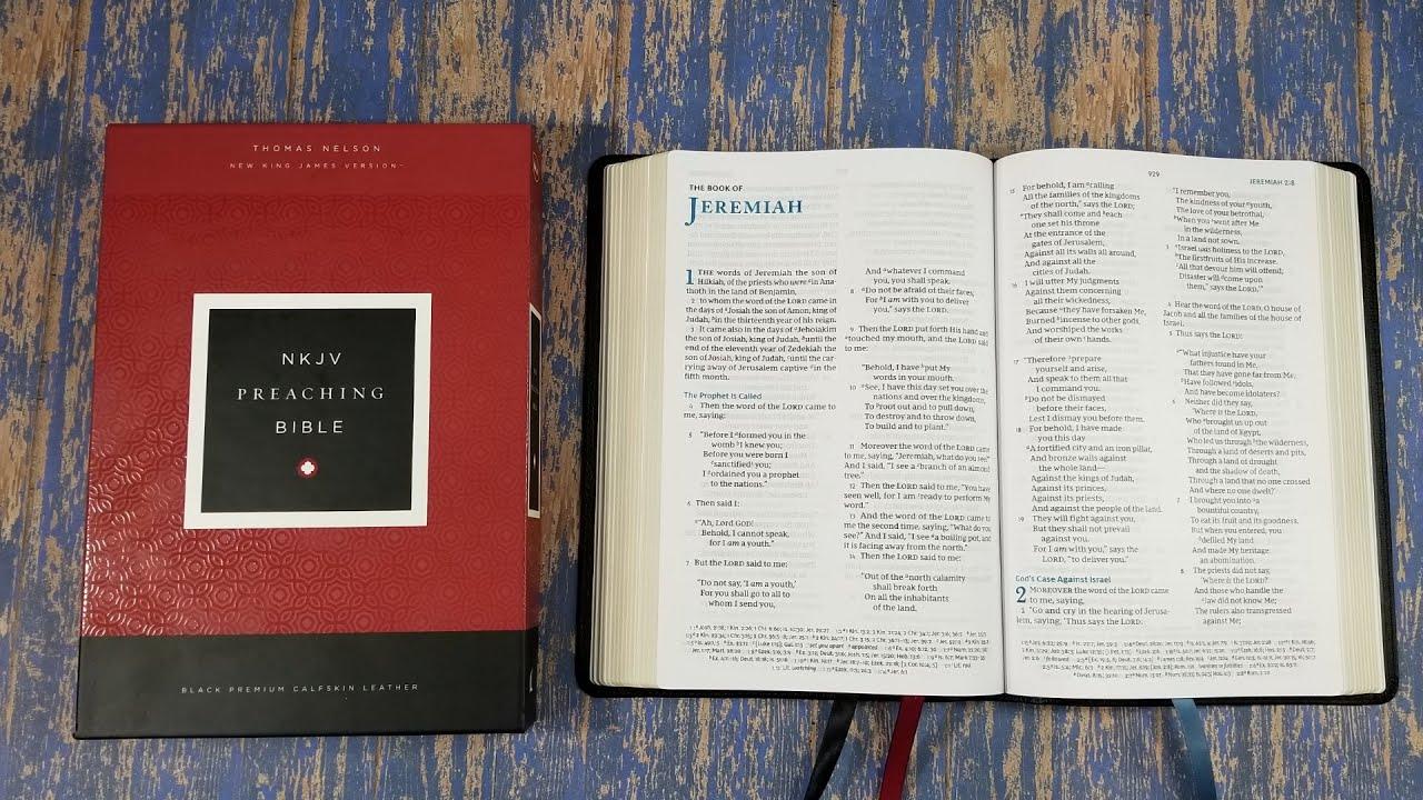 Thomas Nelson NKJV Preaching Bible Review