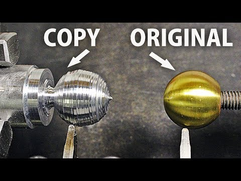 Copy A Ball on the Lathe!