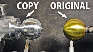 Copy A Ball on the Lathe