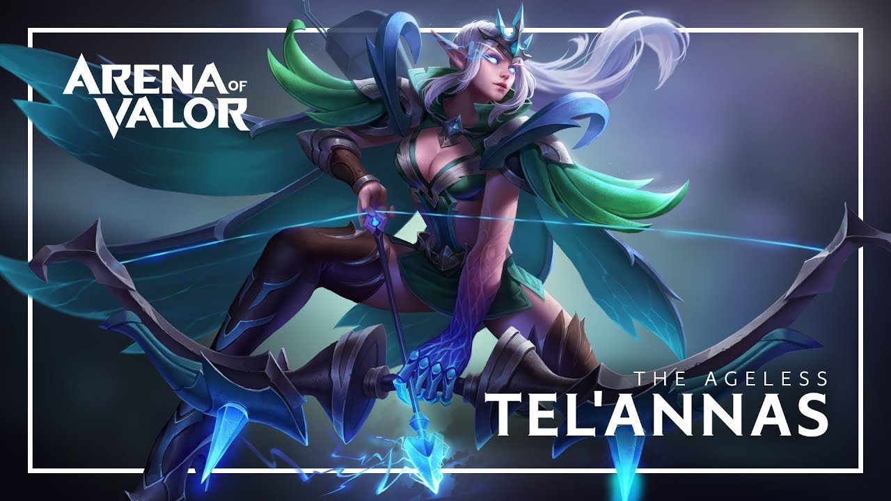 Telannas Hero Spotlight Gameplay Arena Of Valor