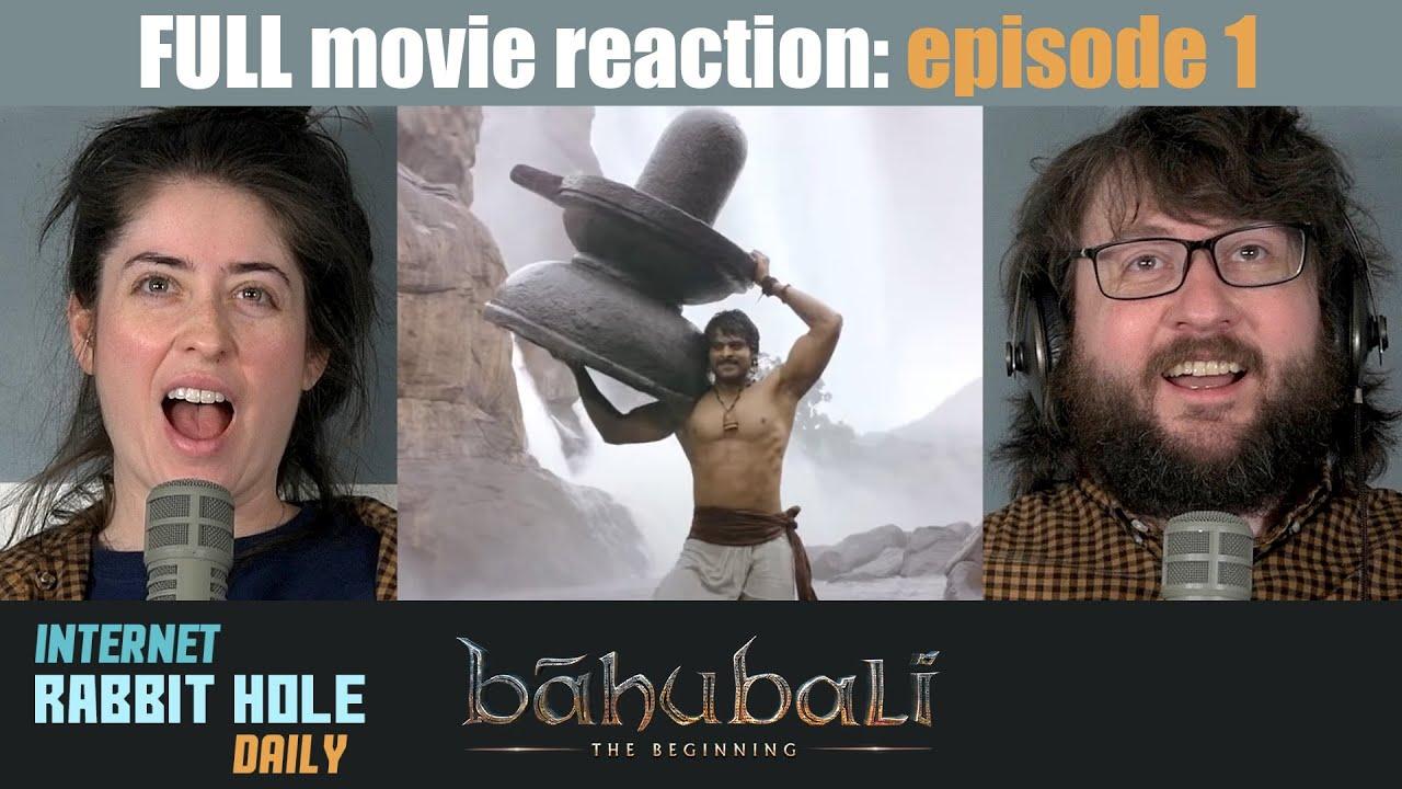 Download Baahubali | ***TELUGU VERSION*** | FULL MOVIE REACTION SERIES | irh daily | EPISODE 1