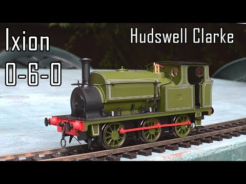 Unboxing the Ixion Hudswell Clarke 0-6-0 (O gauge)