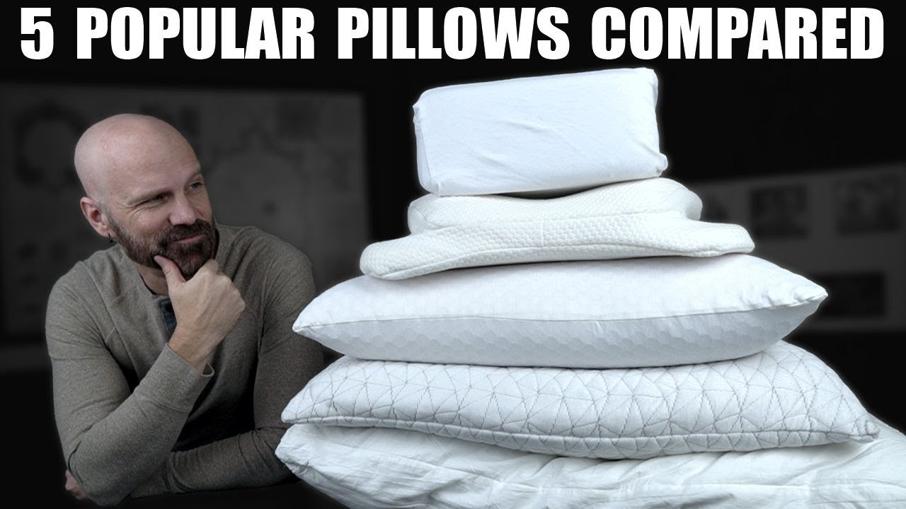 Download Comparing the 5 Most Requested Pillows! Purple Harmony, Coop, Sleepgram, Pillow Cube, Angel Sleeper
