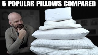 Comparing the 5 Most Requested Pillows! Purple Harmony, Coop, Sleepgram, Pillow Cube, Angel Sleeper