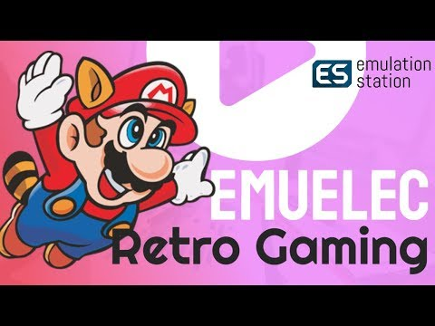 EMUELEC Amlogic Box Retropie Style Classic Gaming System: S905, S905W, S905X, S912, S905X2 And S922X