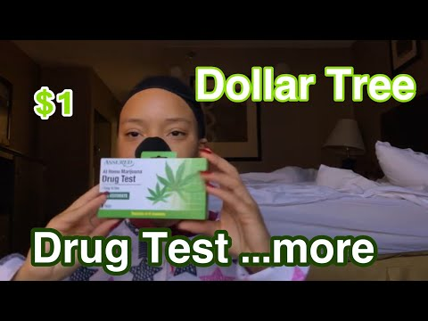 Testing Dollar Tree Drug Test   DOES THIS THING REALLY WORK?