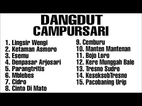Full Album Dangdut Campursari ll Langgam Jawa ll Dangdut Koplo Lawas