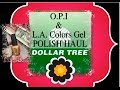 ✅$1 OPI & GEL BRAND NAME Nail Polish at Dollar Tree✔Lori Brainard✔Youtubers Over 40✔Antiaging Gurus✔