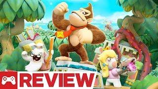Mario + Rabbids Kingdom Battle: Donkey Kong Adventure DLC Review (Video Game Video Review)
