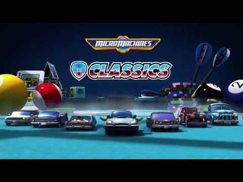 MICRO MACHINES - Classics Update Trailer