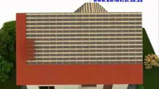 видео Фальцевая кровля Ruukki Classic: типы профиля, особенности применения