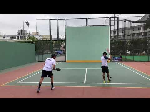 Torneo de Maestros 2019 libre superior Paleta Frontón 5to set Bruno S vs Daniel Y