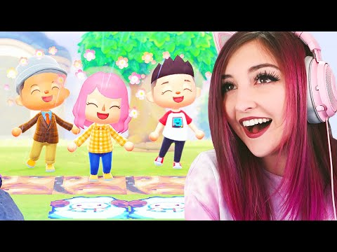 Flower Gardens And Friend Visits In Animal Crossing New Horizons 🍑🏝️ (Streamed 3/29/20)