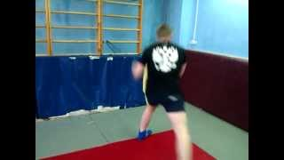 Работа с резиной борца / a rubber wrestler