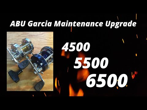 ABU Garcia Maintance Upgrade 5500 6500 7000