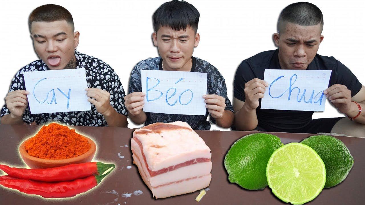 Hưng Troll | Thử Thách 24H Ăn Đồ Ăn Theo Vị Chua Cay Béo Ngọt Thắng Nhận 500$