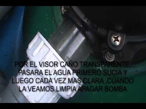 Lavado de filtro de arena youtube for Limpiar filtro piscina