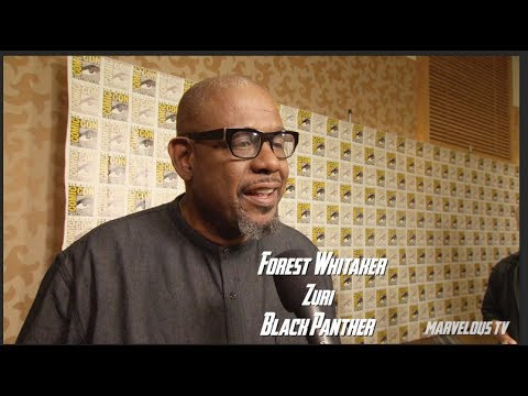 Forest Whitaker at Comic-Con 2017 sets up Black Panther film