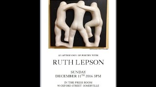 Ruth Lepson Reading for Xit the Bear, December , 2016