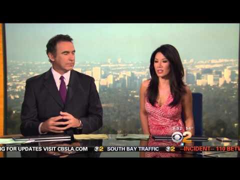 Sharon Tay 2015/05/19 CBS2 Los Angeles HD