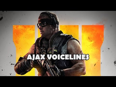 Call Of Duty: Black Ops 4 - Specialist Voicelines (Ajax)
