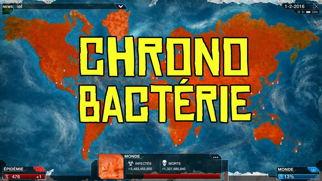 Plague Inc. Evolved Gameplay #74 Chrono: Bactérie en Méga ...
