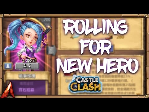 Rolling For Newest Hero War Rose! Update Changes! Castle Clash