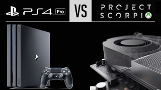 PS4 Pro vs Xbox Scorpio: How Are They Different?
