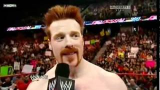 Triple H returns 2010_2011!!!!!to attack and confront Sheamus