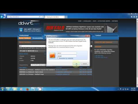 DD-WRT Install (Supercharge) TP Link TL-WDR 4300 N750 Dual Band Router