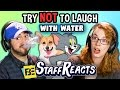 Try to Watch This Without Laughing or Grinning WITH WATER #3 (ft. FBE STAFF)