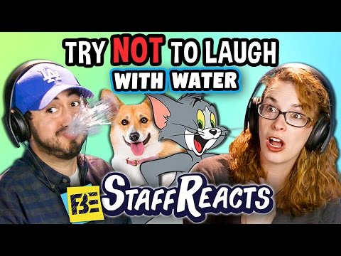 Thumbnail: Try to Watch This Without Laughing or Grinning WITH WATER!!! #3 (ft. FBE STAFF)