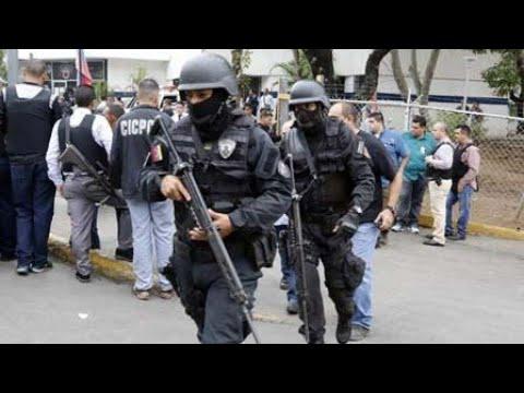 EN CALIENTE - MUEREN 2 FUNCIONARIOS DEL CICPC Y 12 DELINCUENTES 1/2 VIDEO