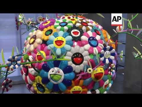 Takashi Murakami's fabulous art on show in Moscow