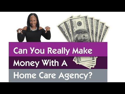 How To Start a Successful 6 Figure Home Care Agency. My REAL Checks!