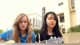 Shiver(Lucy Rose) - Acoustic cover by Tiffany Yufan Zhang and Avery Laing