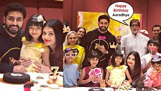 Aishwarya Rai Daughter Aaradhya Bachchan 7th Birthday Party 2018