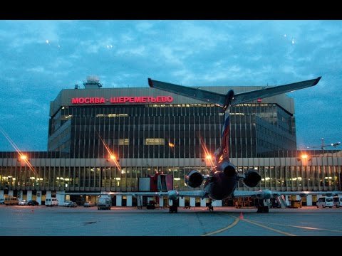 Sheremetyevo International Airport, Moscow, Russia