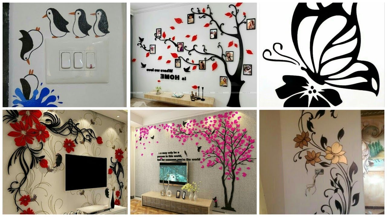 Greatest Ideas for wall Paper, DIY Creative Wall Decorations Ideas
