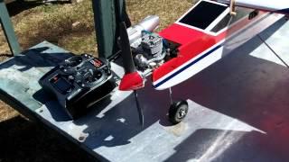 Premier demarage de mon moteur d'avion O.S. .46