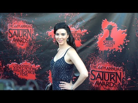 Melissa Ricci 2018 Saturn Awards Red Carpet 4K