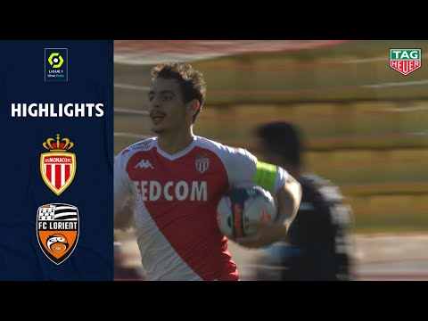 Monaco Lorient Goals And Highlights