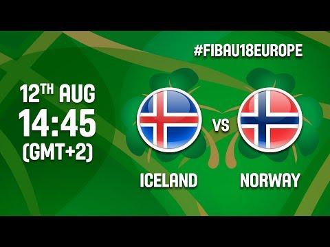 Iceland v Norway - Full Game - Class 13-16 - FIBA U18 Women's European Championship 2017 - DIV B