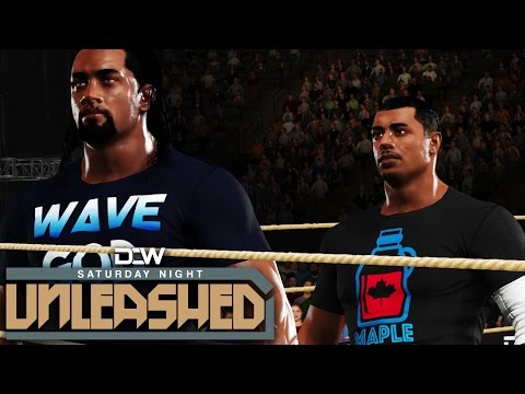 DCW Saturday Night Unleashed Ep14 - Can't Break My Will | WWE2K17 Universe Mode