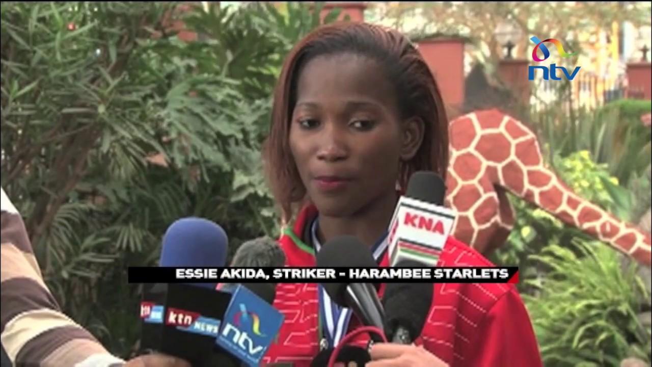 CAF AWCON: Get to know Harambee Starlets lethal forward Esse Mbeyu Akida'