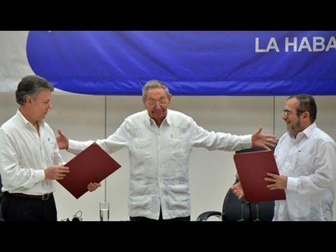 Historic Ceasefire Agreement Signed in Colombia