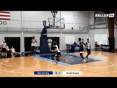Bella Vista Prep vs. Wasatch Academy   Full game LIVE from the Southern Utah Challenge