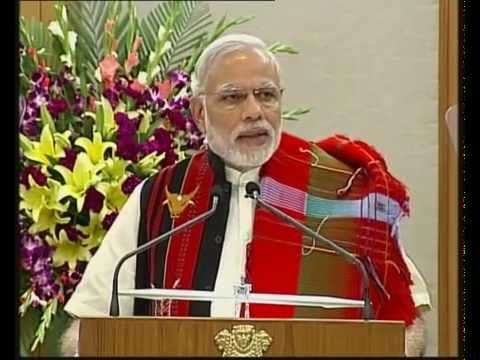 PM Modi witnesses the signing of historic peace accord between Government of India and NSCN