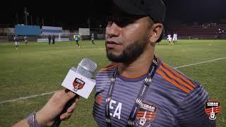 Declaraciones de Edward Acevedo luego del primer partido del Campeonato del Caribe de CONCACAF