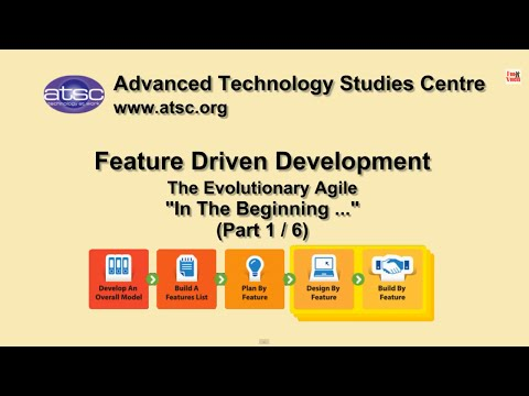Feature Driven Development (FDD): In The Beginning ... (Part 1/6)